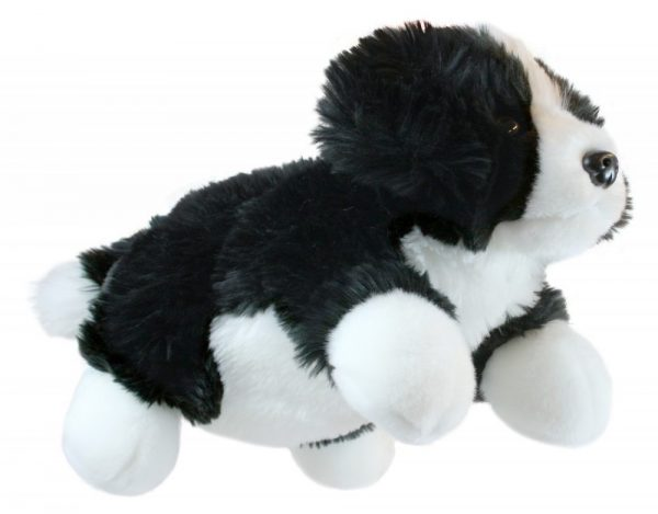 Black and White Full Bodied Dog Puppet