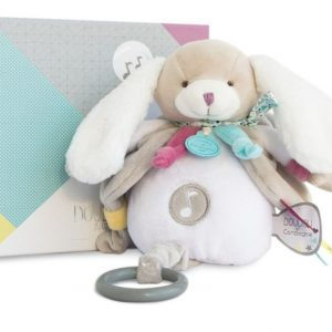 Doudou et Compagnie Chien Toopi Music Box Baby Toy