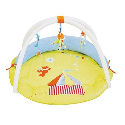 Doudou et Compagnie Cocoon Baby Activity Fox Play Mat