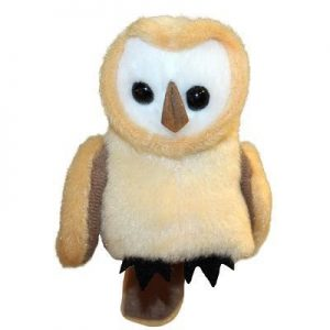 Barn Owl Finger Puppet Toy