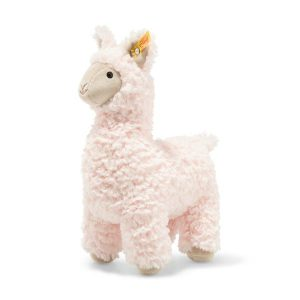 Lucianna PInk Llama Steiff Soft Cuddly Friends Soft Toy 29cm