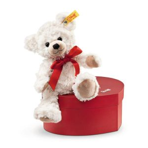 Steiff Sweetheart Teddy Bear in Heart Box