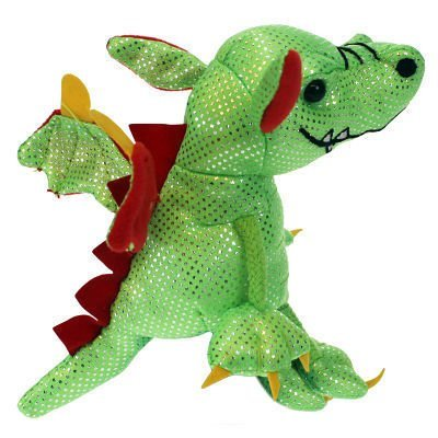 Green Dragon Finger Puppet from The Puppet Company