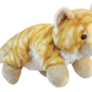 Ginger Cat Full Bodied Animal Hand Puppet