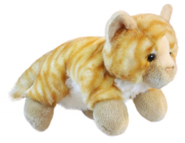 Ginger Cat Full Bodied Animal Hand Puppet