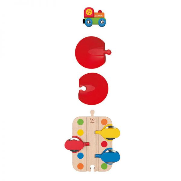 Hape Tambourine Tune Train Track Piece