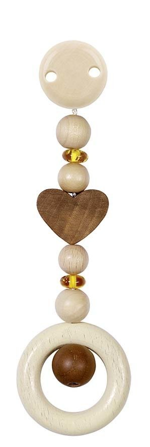 Heimess Wooden Baby Toy Amber for Teething