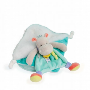 Doudou et Compagnie Hippo Baby Toy Comforter