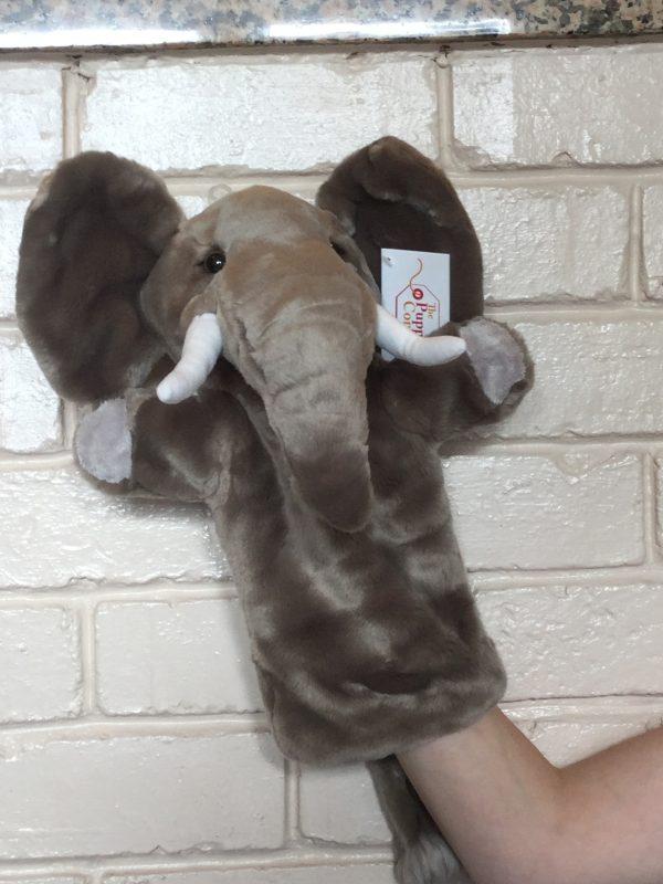 Elephant Long Sleeve Animal Hand Puppet