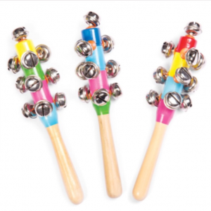 Wooden Bell Stick Instruments