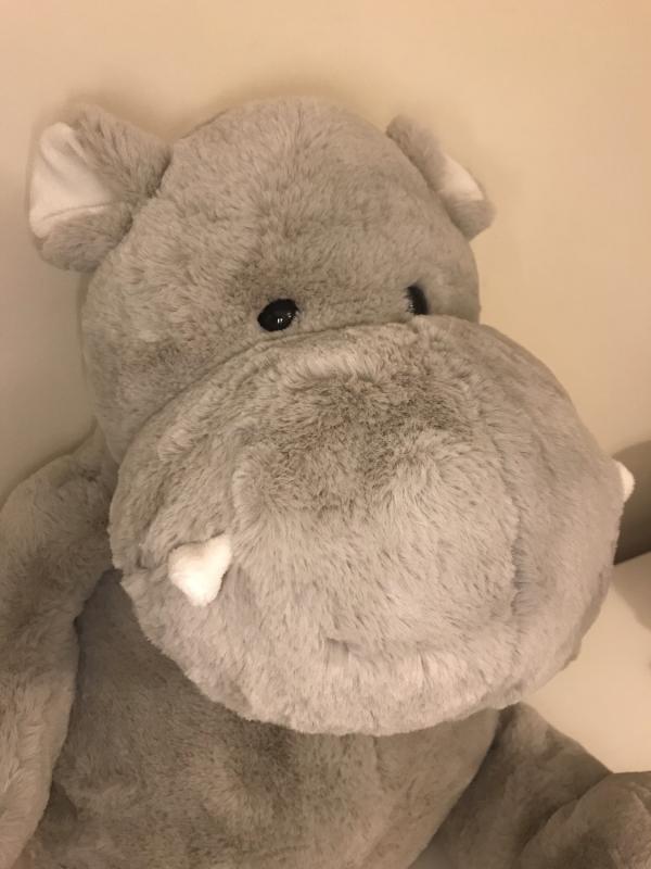 Histoire d'Ours 48cm Hippo'dou Soft Hippopotamus Toy