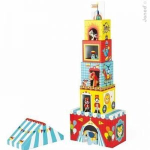 Janod Circus Stacking Blocks