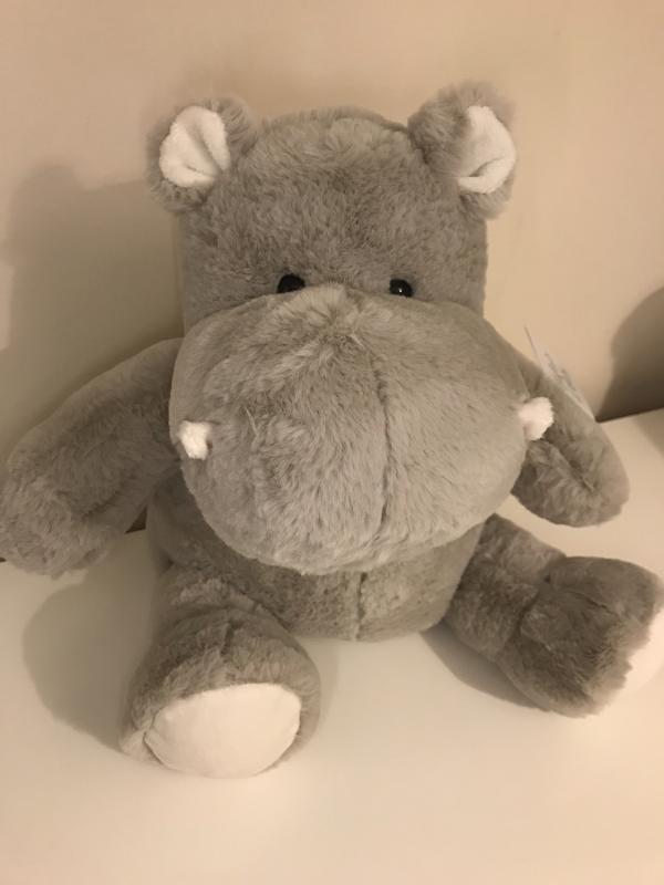 Histoire d'Ours 32cm Hippo'dou Soft Hippopotamus Toy