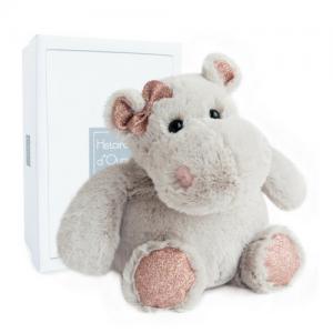 Histoire d'Ours 25cm Sparkle Hippo Girl