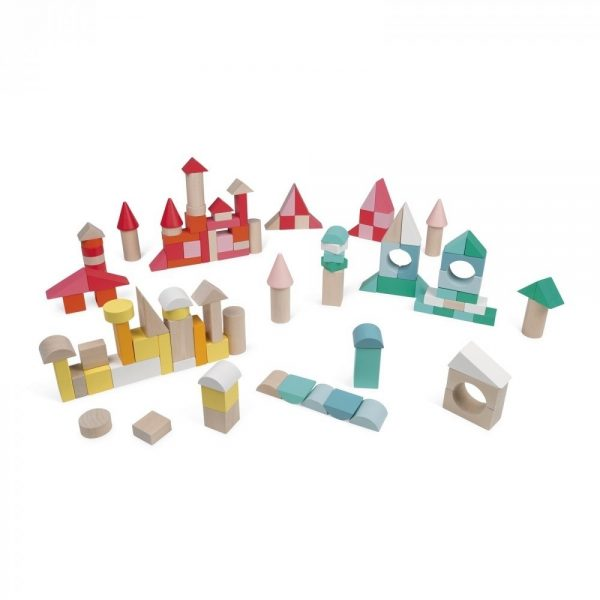 Janod Wooden Kubix Play Blocks