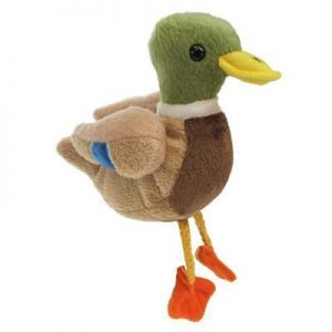 Mallard Duck Animal Finger Puppet