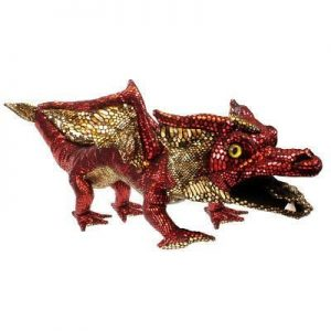 Red Dragon Large Hand Puppet