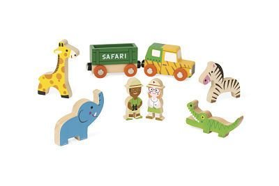 Janod Wooden Safari Toy