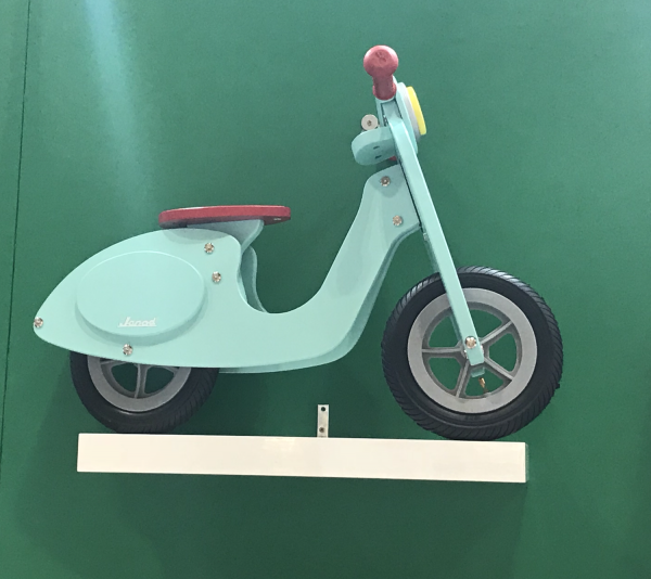 Janod Wooden Play Scooter in Mint