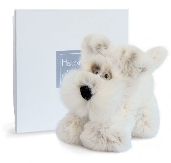 Histoire d'Ours 25cm Chien Scottish Soft Scotty Dog