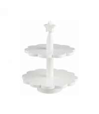 Kids Concept White Wooden Toy Cake Stand