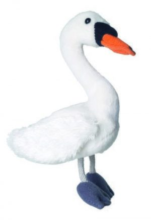 Swan Animal Finger Puppet