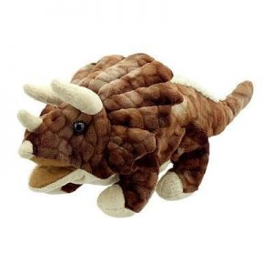 Triceratops Bay Dino Puppet