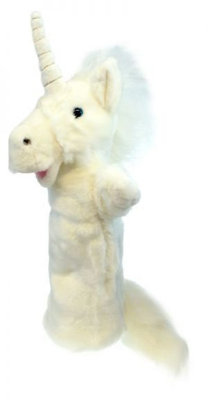 Unicorn Long Sleeved Glove Animal Hand Puppet