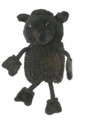 Black Sheep Animal Finger Puppet