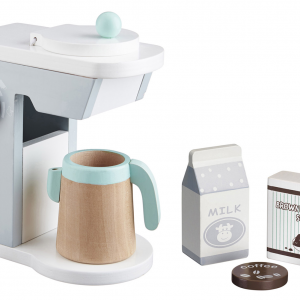 Kids Concept Toy Wooden Coffee Maker Set
