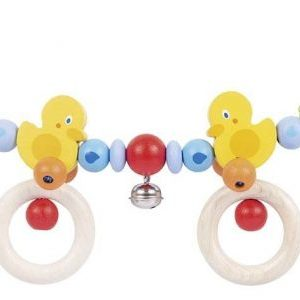Heimess Pram Toy Wooden Duck Chain