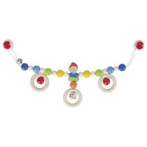 Heimess Pram Toy Wooden Dwarf Chain Toy
