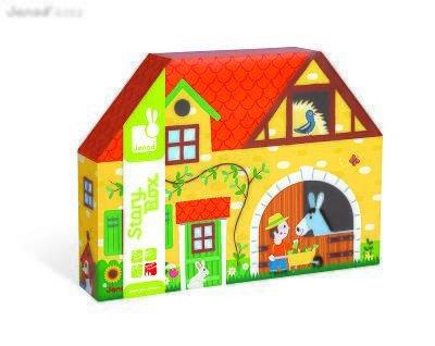Janod Farm Story Imaginative Play Box