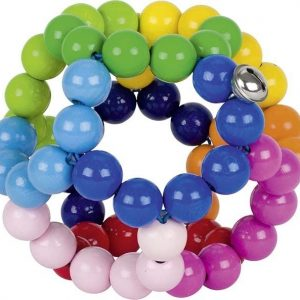 Heimess Big Elastic Rainbow Ball Large Touch Ring