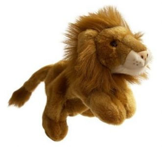 Lion Full Bodied Animal Hand Puppet
