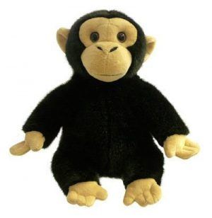 Monkey Chimp Full Bodied Animal Hand Puppet
