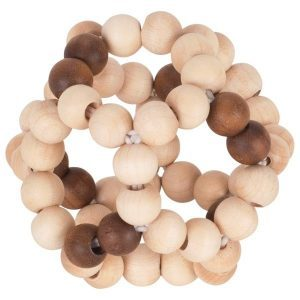 Heimess Touch Ring Natural Wood Elastic Ball