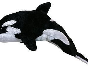 Orca Whale Animal Finger Puppet