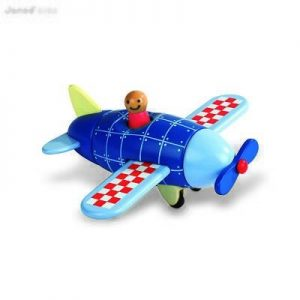 Janod Wooden Plane Magnet Kit