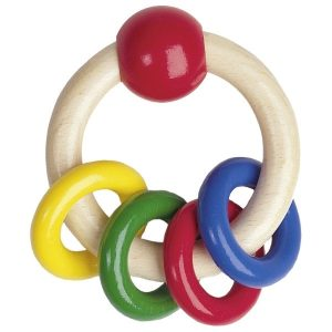 Heimess Touch Ring with 4 Primary Colour Rings