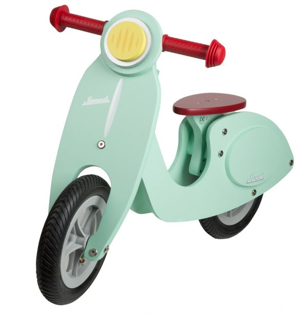Janod Mint Wooden Scooter