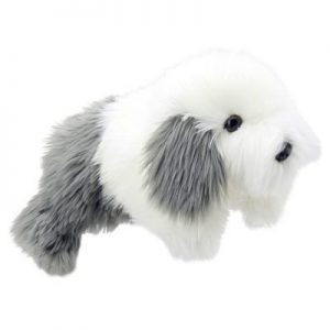 Sheepdog Full Bodied Animal Dog Hand Puppet