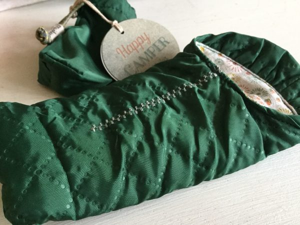 Maileg Happy Camper Green Sleeping Bag