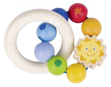 Heimess Touch Ring Rainbow Sun Baby Grasp Toy
