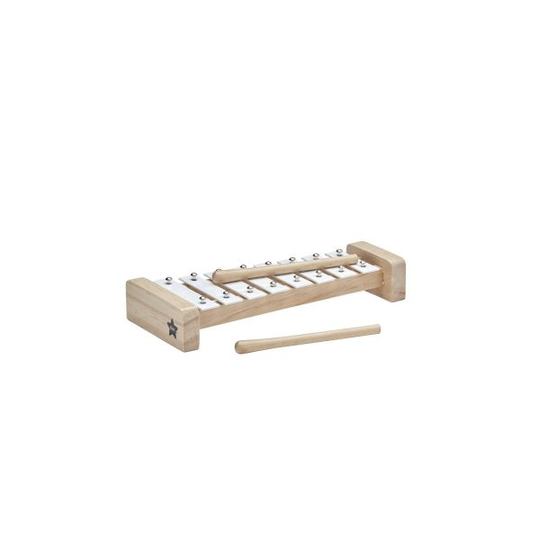 Kids Concept White Wooden Xylophone