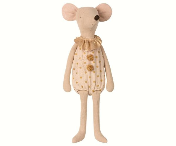 Maileg Maxi Circus Mouse Girl Clown