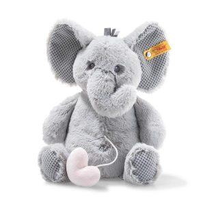 Steiff Ellie Elephant Music Box Baby Gift