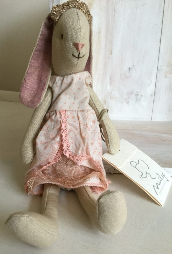 Maileg Mini Bunny Princess Rose Pink