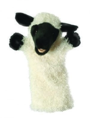 White Sheep Long Sleeved Glove Animal Hand Puppet