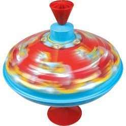 Traditional Metal Carousel Humming Spinning Top